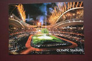 Athens Greece 2004 Olympic Games Opening Ceremony Stadium original postcard card