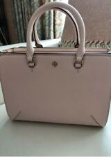 Tory Burch handbag tote, pale pink leather, never used