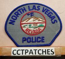 NORTH LAS VEGAS, NEVADA POLICE SHOULDER PATCH NV