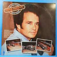 MERLE HAGGARD MY LOVE AFFAIR WITH TRAINS LP 1976 GREAT CONDITION! VG++/VG+!!B