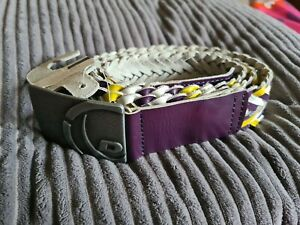 Womens Leather belt, By Duck & Cover, Woven. NEW WITH TAGS,