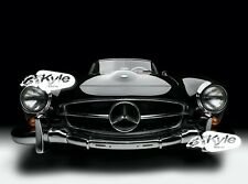 24 inch X 30 inch High Definition PHOTOGRAPH Poster of Mercedes Benz 190SL Front