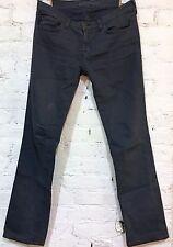 "J Brand Jean Size 27 x 31"" Skinny 914 Fit Slate Blue Cotton Stretch Mid Rise"
