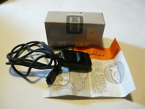 Pentax Cable Switch F Remote Shutter Release 37242
