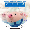 Electric Toy 120 Songs Recordable Cartoon Jumping Pig Cute Jump Toys