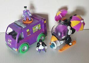 Imaginext Vehicle Bundle ~ Joker Van & Penguin Copter with figures