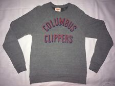 Homage Of Columbus Ohio Columbus Clippers Gray Light Sweatshirt Small Made USA