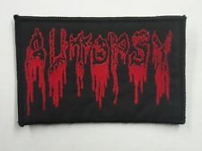 AUTOPSY DEATH METAL WOVEN PATCH