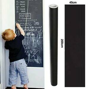 45*200CM Removable Kids Small Chalk Board Blackboard Vinyl Art Draw Sticker Size