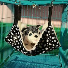 Pet Cage Hammock, Polyester Polka Dot Small Pet Animal Small Dog Puppy Cat Kitty