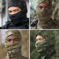 Tactical Balaclava Military Army Ski Camo Full Face Mask Outdoor Cap Hat Cover