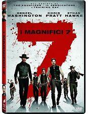 I MAGNIFICI 7 (DVD) FILM REMAKE con Denzel Washington; Chris Pratt; Ethan Hawke