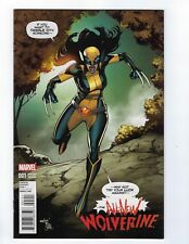 All New Wolverine # 1 Marquez 1:15 Variant Cover NM