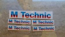 BMW E30 M technik Body Kit  6 Decal E30 E24 E28 Original M tech with BIG Sticker