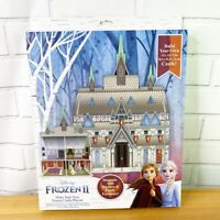 NEW 2019 Disney Frozen 2 II Make Your Own Frozen Castle Cardboard Playset C2