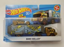 Hot Wheels New 2018 Bank Roller car included. Great Gift Item !