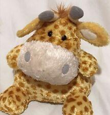 "Applause Baby Giraffe plush toy 11"" Stuffed Animal Orange Giraffe Soft"
