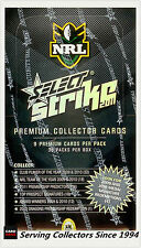 2011 Select NRL Strike Trading Cards Factory Box (36 packs)