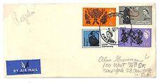 T270 1965 GB QEII FDC London W.C U.S.A Cover {samwells-covers}PTS