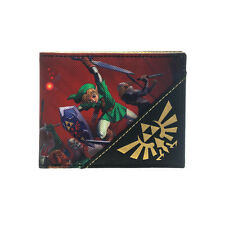 AWESOME THE LEGEND OF ZELDA OCARINA OF TIME PRINT WALLET *BRAND NEW*