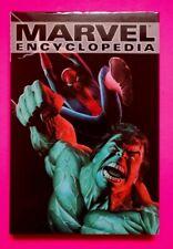 MARVEL ENCYCLOPEDIA VOL 1 HARDCOVER 1ST PRINT 2002 HULK SPIDER-MAN COVER
