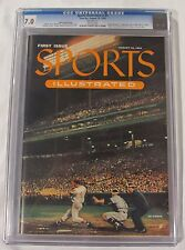1954 #1 FIRST ISSUE SI SPORTS ILLUSTRATED VINTAGE MAGAZINE GRADED CGC 7.0