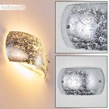 Applique argentée Lampe murale Lampe de corridor Lampe de séjour Spot moderne