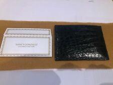 Credit Card Crocodile Leather Wallet Genuine Brand New