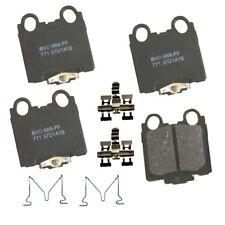 Disc Brake Pad Set-Stop Ceramic Brake Pad Rear Bendix SBC771