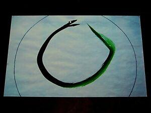Ferlinghetti - SIGNED 1/50 ART BY FERLINGHETTI, DRAWN IN PARIS - BEAT GENERATION