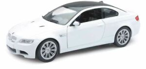 BMW M3 in White (1:24 scale by New-Ray Toys 71053B)