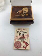 The San Francisco Music Box Co. Rare Wood Inlay Sorrento Italy