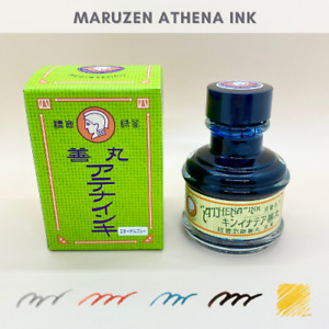 Maruzen Athena ink Nihonbashi only Fountain pen bottle ink all 5 colors 50ml
