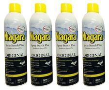 Niagara Spray Starch Crisp Finish, 20 oz | 4 PACK