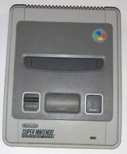 Console SUPER NINTENDO SNES peritel, 2 manettes,8 jeux,adaptateur, sans chargeur