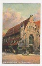 Germany, Bratwurst-Glocklein Nuremberg Art Postcard, B237