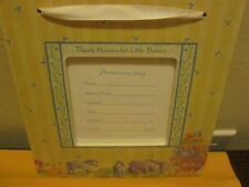 Thank Heaven For Little Babies Birth Announcement Frame New No Box