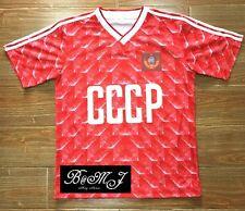 USSR CCCP Russian World Cup 1988 88 soccer football shirt jersey Sz L