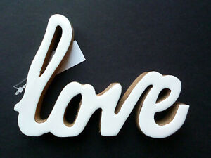 Love Home Word Ornament Decorative Bedroom Items Living Room Accessories Decor
