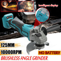 Replacement For Makita Body 18V 125mm Brushless Cordless Electric Angle Grinder