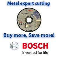 Bosch 125mm EXPERT METAL Cutting Discs | Angle Grinder Discs Multi Listing 125mm