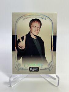 Quentin Tarantino 2008 Donruss Americana Celebrity Cuts Century Silver /50 #71