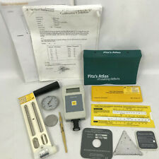Paint Test Equipment Eban 1000 Coating Thickness Meter Kit w/ Accessories