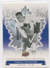 2017 UPPER DECK TORONTO MAPLE LEAFS CENTENNIAL BASE #76 CHARLIE CONACHER *50556