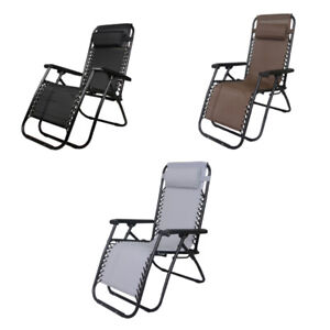 Austwide Set Of 2 Foldable Reclining Outdoor Chair 3 x Colours **FREE DELIVERY**