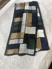 vintage scarf silk Annex 11x52�