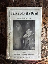 Talks with the Dead, John Lobb, Extremely Rare, 1906, First Edition, Occult Book