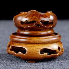 Chinesisch Holz Display Ständer Hohl Sockel Blumentopf Einrichtung Schnitzen Neu