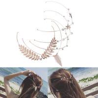 Fascia Capelli Donna Cristallo Headband Copricapo Accessorio per Ragazze Moda LF