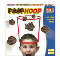 Poop Hoop Net Fun Novelty Poo Game Kids Adults Bath Time Ball Headband Throw